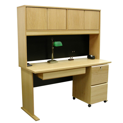 Rush Furniture Modular Computer Desk with Hutch
