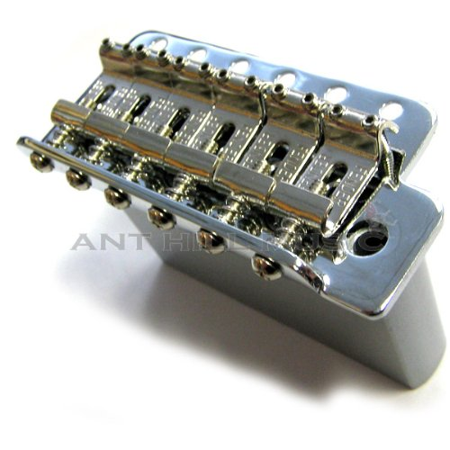 Fender Strat Mexi Tremolo Bridge Assembly Chrome