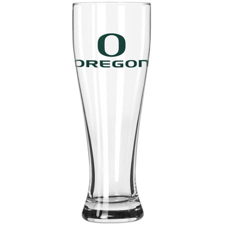 Boelter Brands NCAA University of Oregon Ducks 23-Ounce Grand Pilsner with Full Color Team (Ncaa Team Logo Pin)