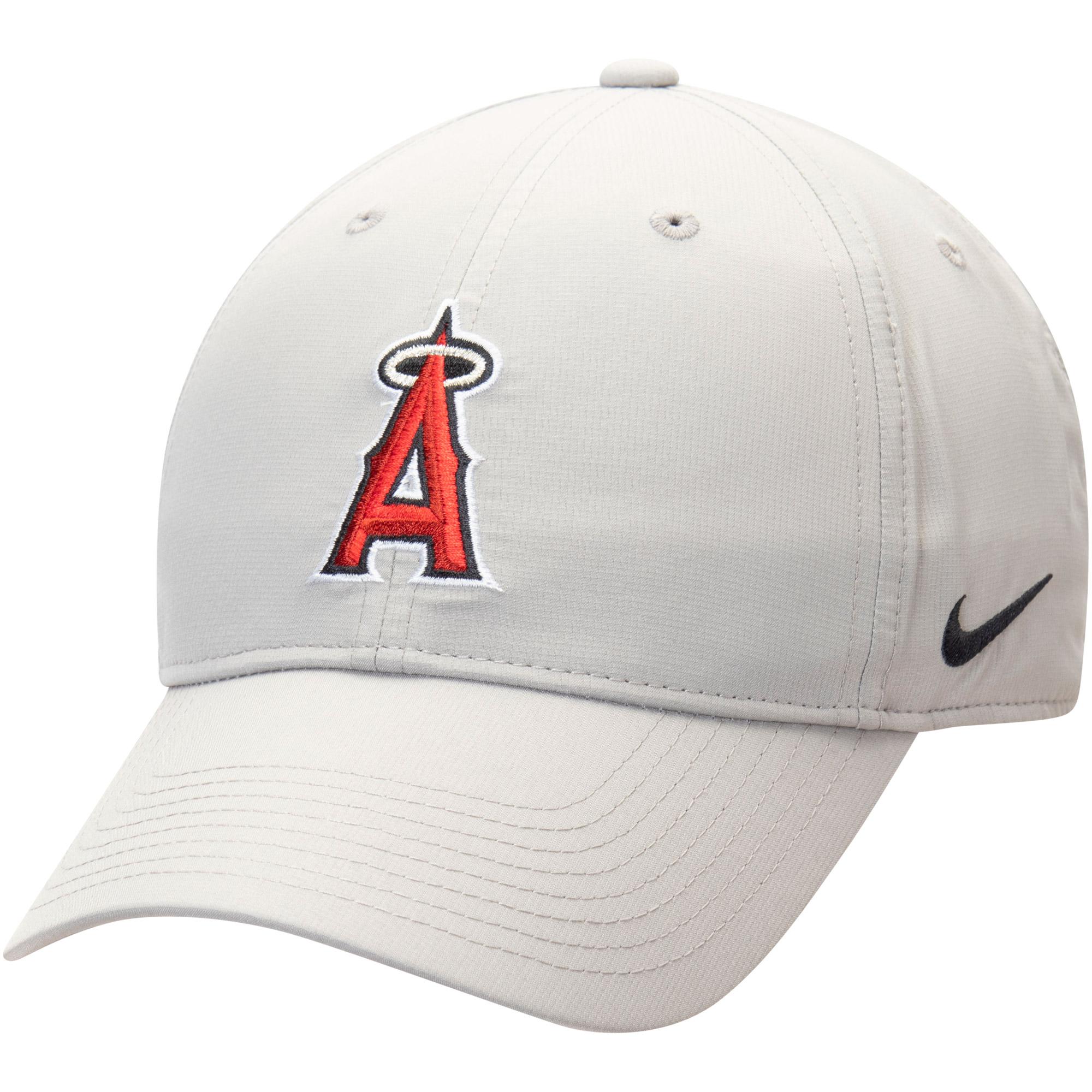 Los Angeles Angels Nike Legacy 91 Adjustable Performance Hat - Gray - OSFA