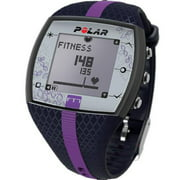 Women's Polar Heart Rate Monitor Fitness Watch FT7F BLUE/LILAC