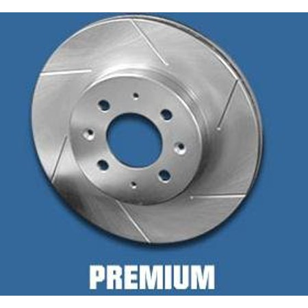F150 Power Disc Brake - Power Slot 8513psr Slotted Brake Rotor For 1976-1993 Ford F150 1/2 Ton 4wd - All (disc Only) - Right Front