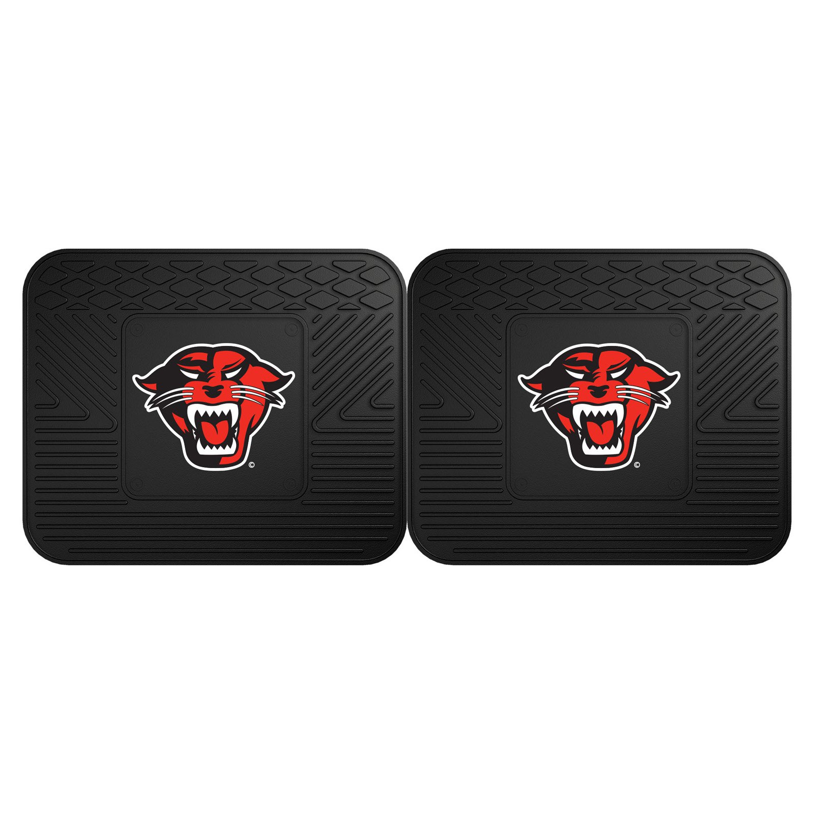 Fan Mats NCAA Car Backseat Utility Mat - Set of 2