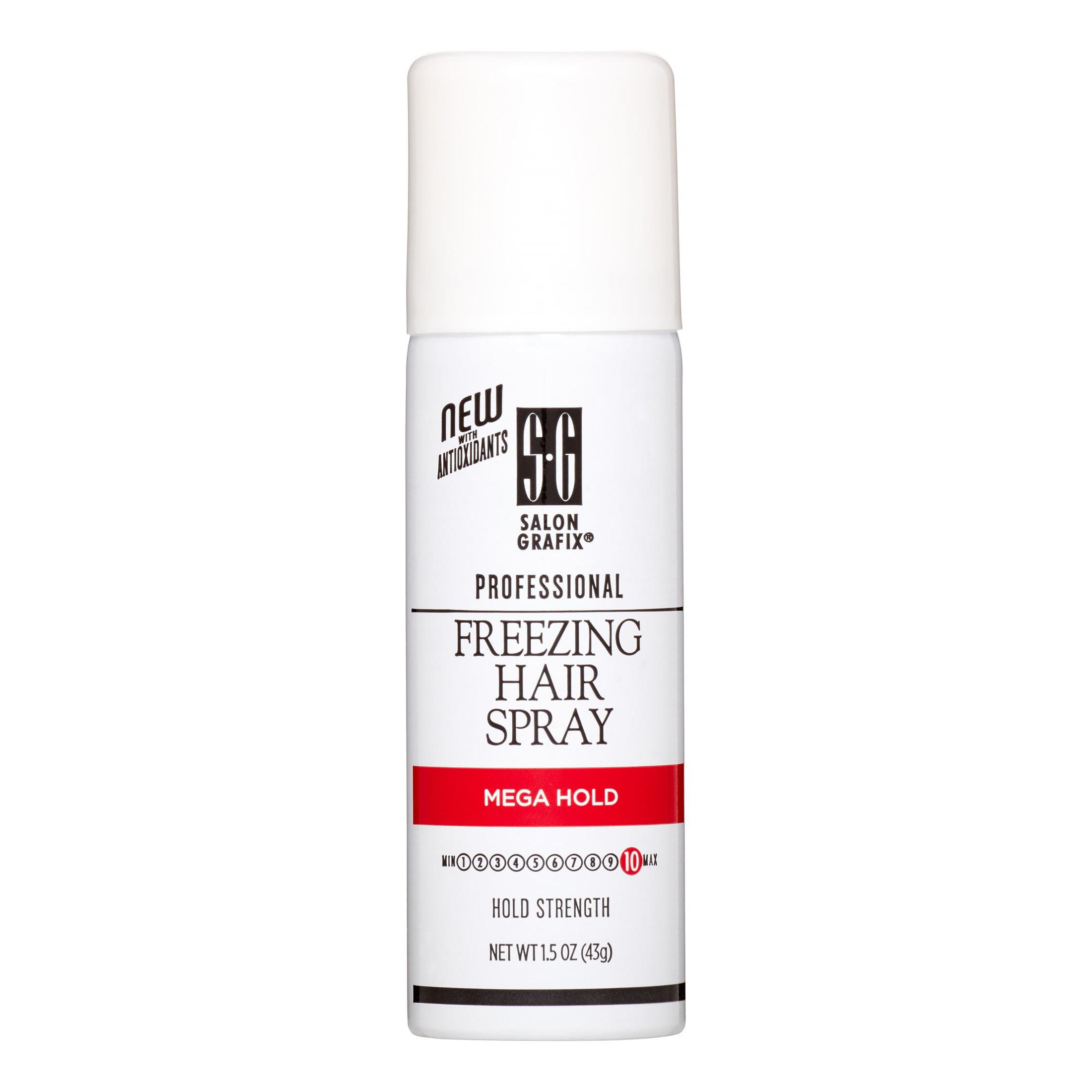 Salon Grafix Freezing Hair Spray, Mega Hold, 1.5 Oz
