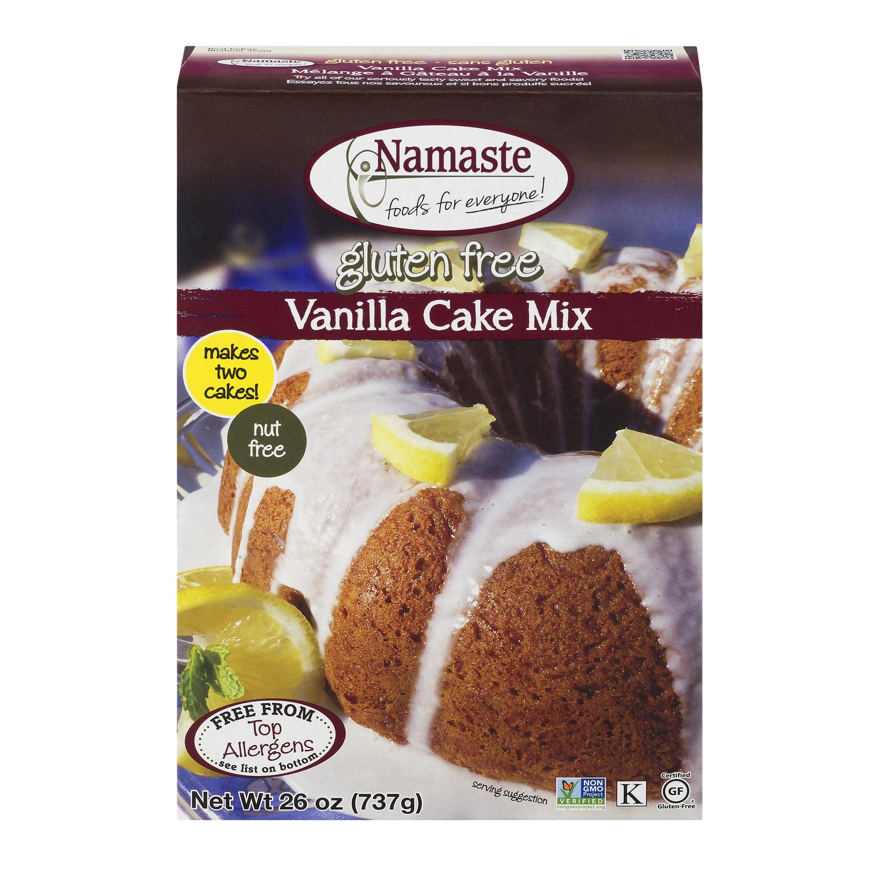 Namaste Foods Gluten Free Vanilla Cake Mix, 26 oz