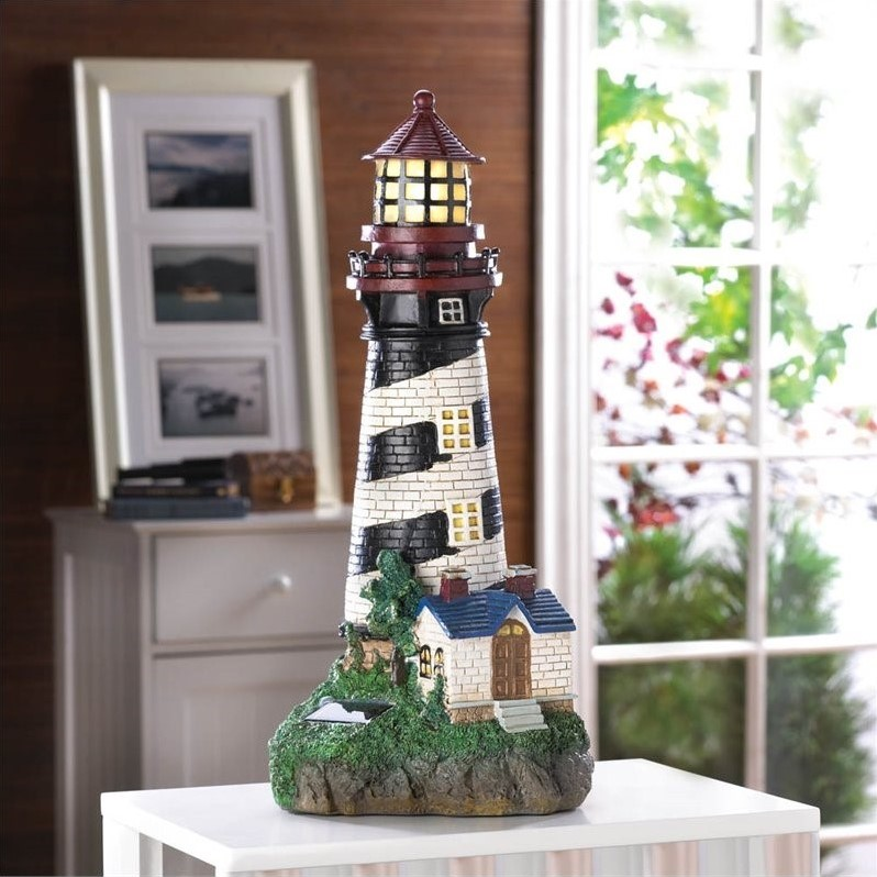 Zingz and Thingz Solar-Powered Lighthouse