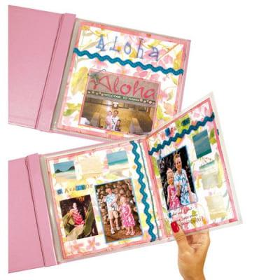 C-Line MINI Memory Book Fold-Out Panoramic Scrapbook Page Protector (Set of 6 PK) CLI05207BNDL6PK - Mini Scrapbook