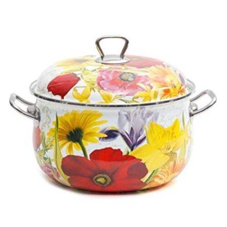 Floral Garden 4-Quart Dutch Oven, Multi-Color, 4 qt Casserole By The Pioneer Woman