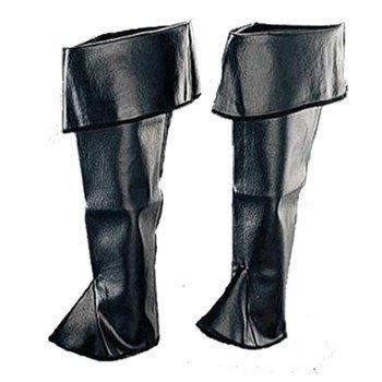 Deluxe Black Ladies Boot Tops Deluxe Cast Boot