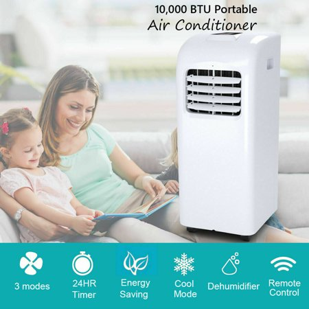 10000 BTU Air Conditioner & Dehumidifier w/ Remote Control Window Kit - image 8 of 10