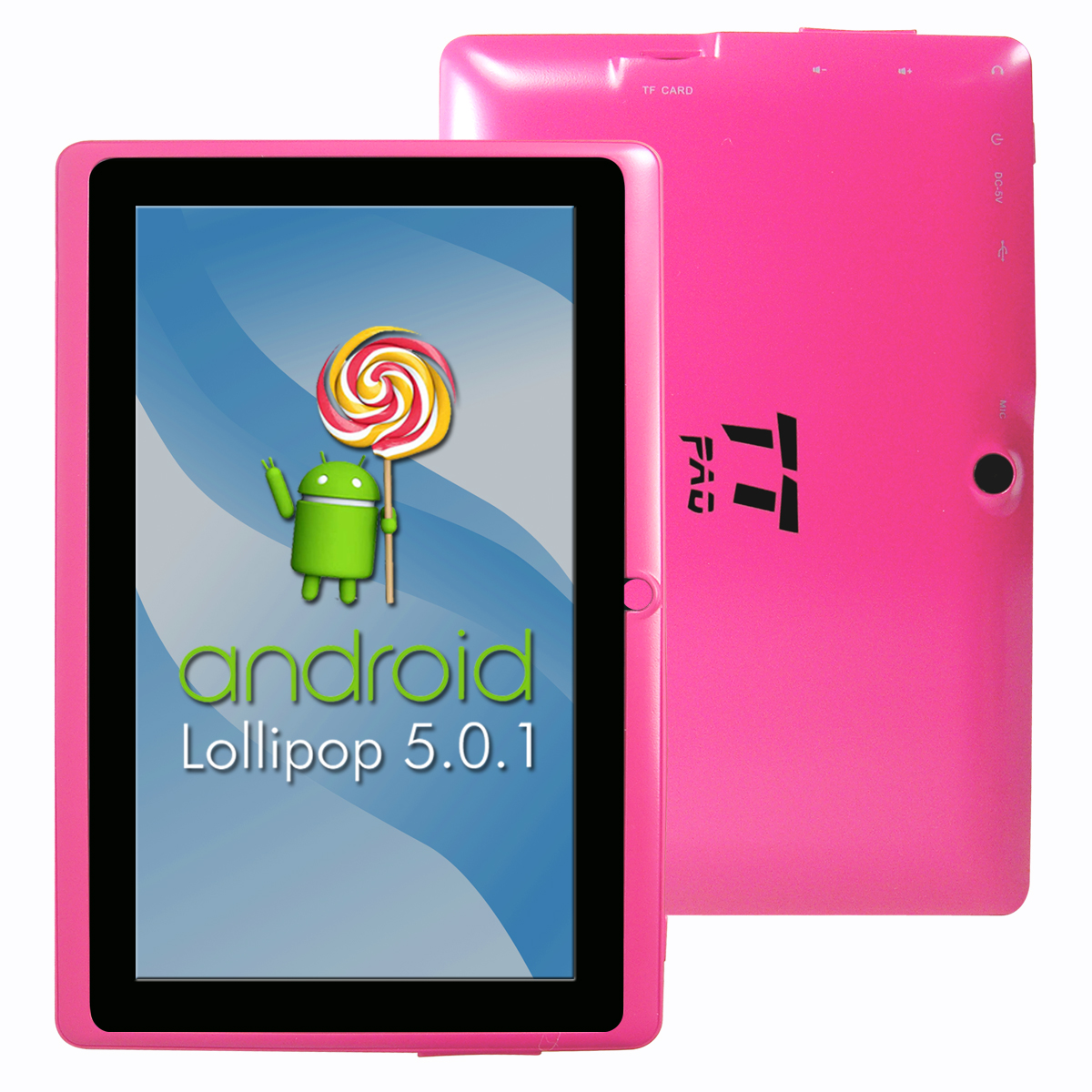"Top Tech Audio™ Android Tablet 7""- Pink"