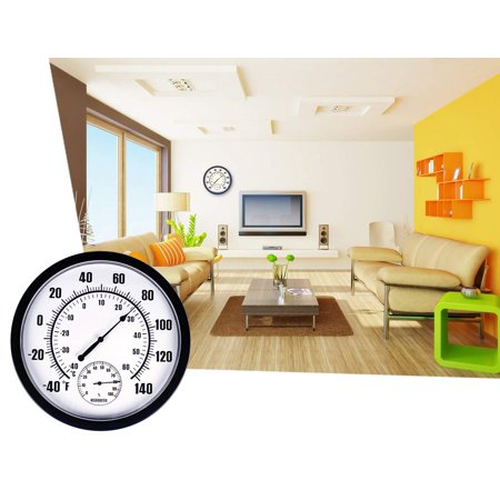 GLiving Thermometer Indoor Outdoor 10