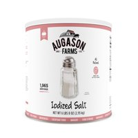 Augason Farms Iodized Salt 6 lbs 8 oz No. 10 Can