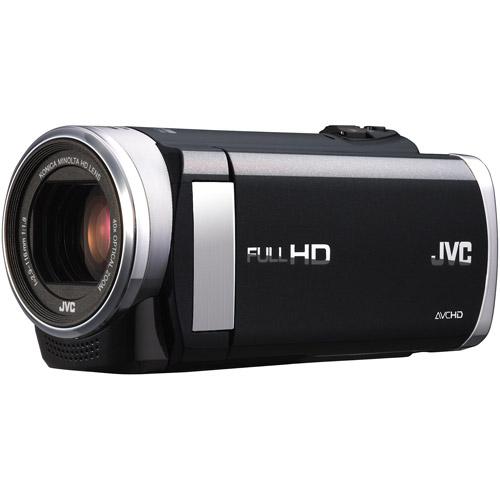 "JVC GZHM40BUS Black HD Flash Camcorder w/ 40x Optical Zoom, 2.7"" LCD display, Advanced Image Stabilizer"