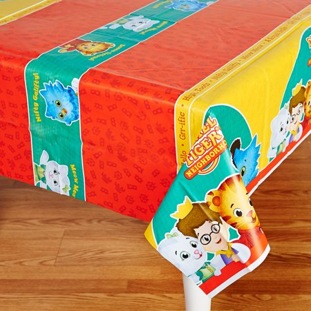 Daniel Tiger'S Neighborhood Party Supplies 2 Pack Tablecovers](Daniel The Tiger Birthday Party)