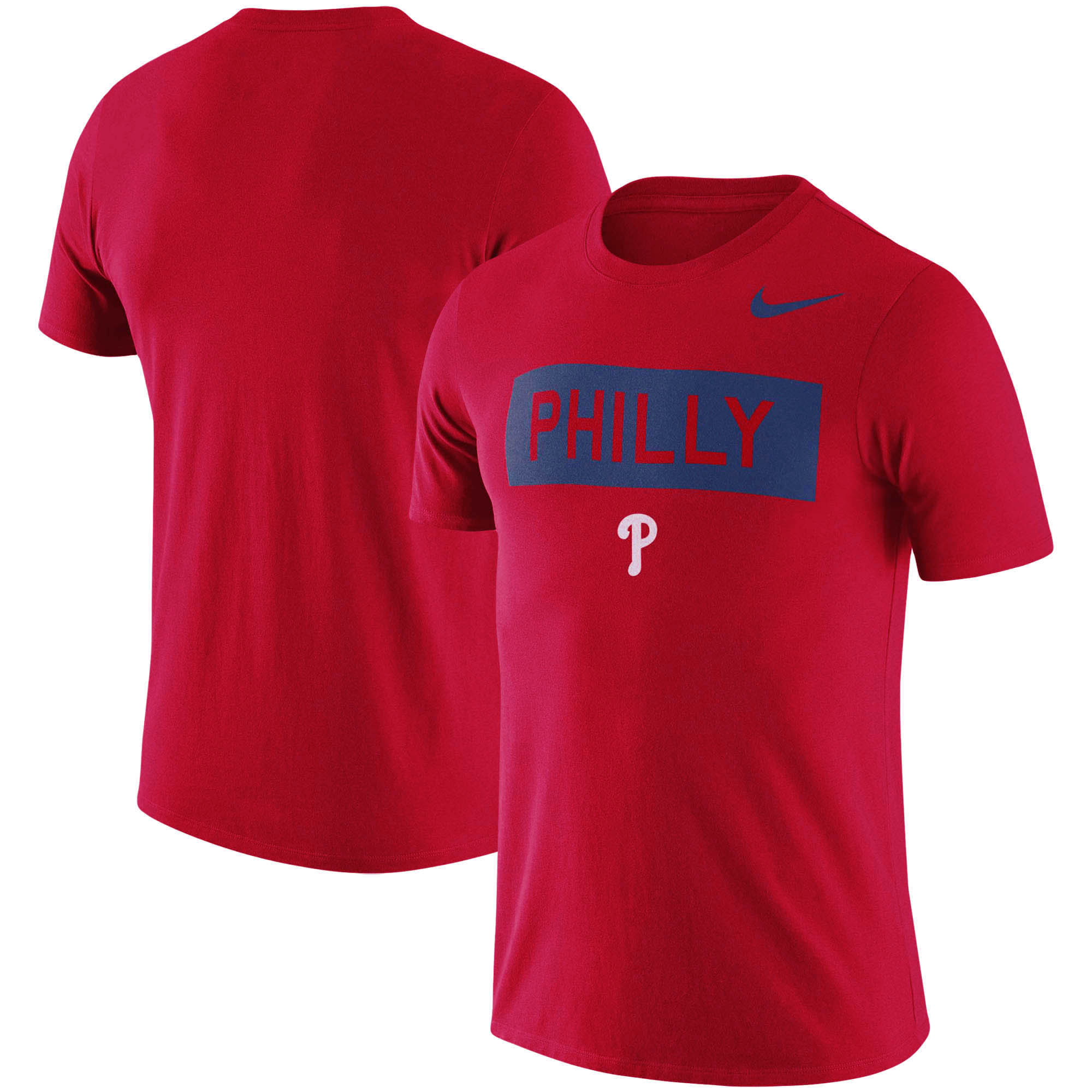 Philadelphia Phillies Nike MLB Philly Local Phrase T-Shirt - Red