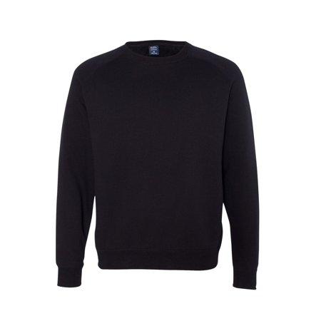 Independent Trading IND30RC Fitted Raglan Crewneck Sweatshirt