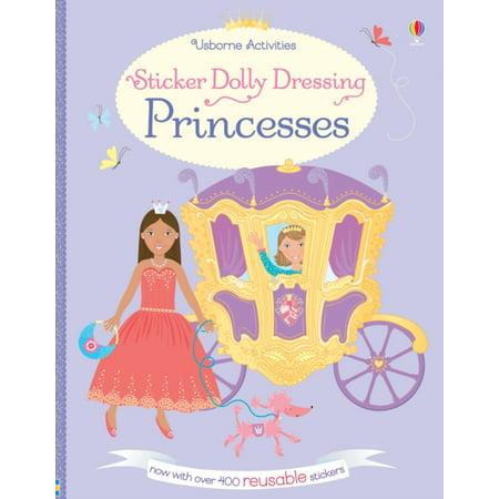 Sticker Dolly Dressing Princesses (Paperback) - Princes Fiona