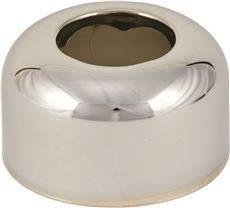 DEEP ESCUTCHEON TUBULAR 1-1/4 IN.  OD CHROME PLATED