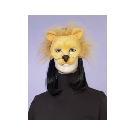 ANIMAL MASK-LION W/ELASTIC - Lion Mask