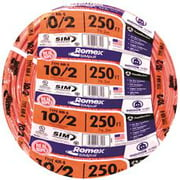Romex Nm-B Non-Metallic Sheathed Cable With Ground, 10/2, 250 Ft. Per Roll