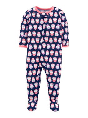 c3d2b9332935 Child of Mine by Carter s Toddler Girls One-piece Pajamas - Walmart.com