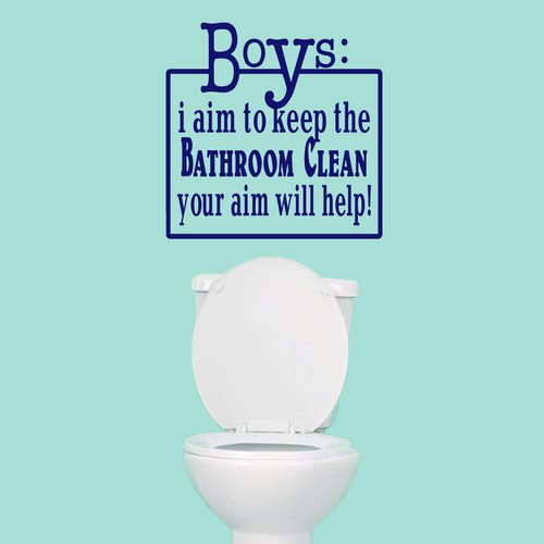 Sweetums Wall Decals Boys Your Aim Will Help Wall Decal