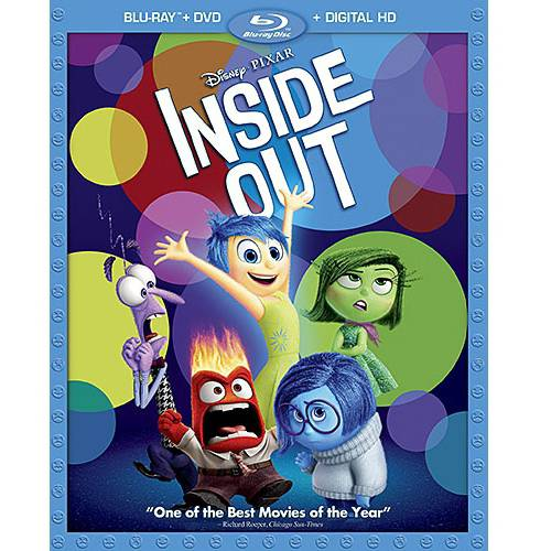 Inside Out (Blu-ray + DVD + Digital Copy)
