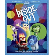 Inside Out (Blu-ray + DVD + Digital Copy) by Walt Disney Home Entertainment