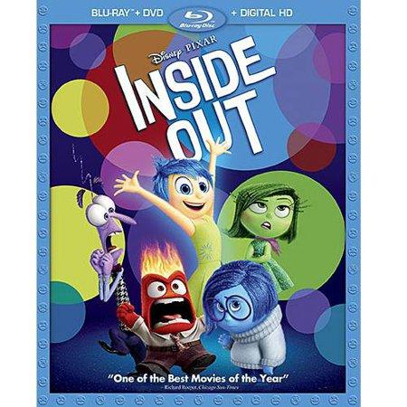 Inside Out  Blu Ray   Dvd   Digital Copy