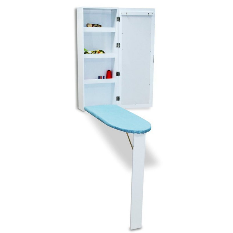 Beautiful SunshineLLC Ironing Board Cabinet Wall Mounted With Built In Ironing Board  Storage Cabinet Foldable With Mirror