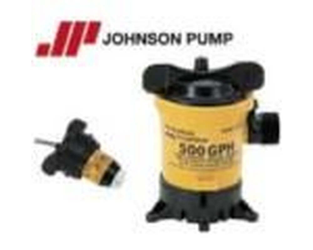 32502 Marine 500 GPH Cartridge Bilge Pump, Fully submersible By Johnson Pumps of America Ship from US by
