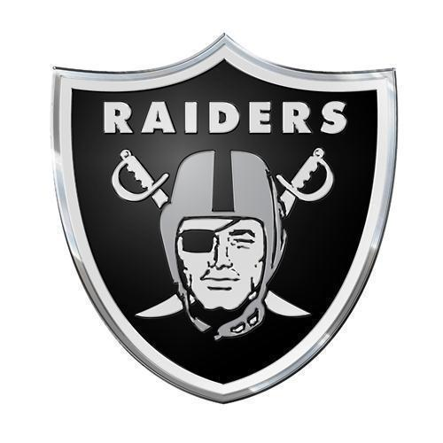 Oakland Raiders Color Team Emblem  - NFL Licensed #72404