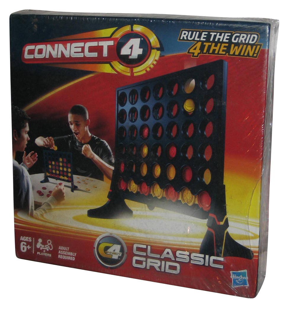 Connect Four Hasbro Classic Grid Game by Hasbro