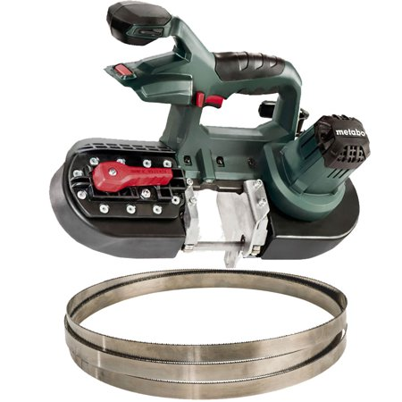 Metabo MBS18LTX25 Band Saw (Bare) with 5.2ah Battery + Charger OB Open Box