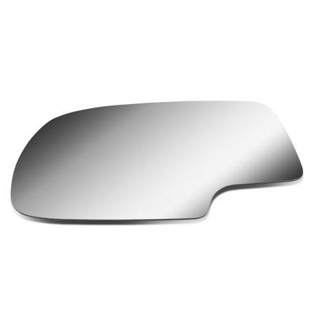 For 1999 to 2007 Chevy Silverado / Tahoe / GMC Sierra / Yukon Left Side Door Rear View Mirror Glass Replacement Lens 00 01 02 03 04 05 (2001 01 Chevy Silverado Truck)