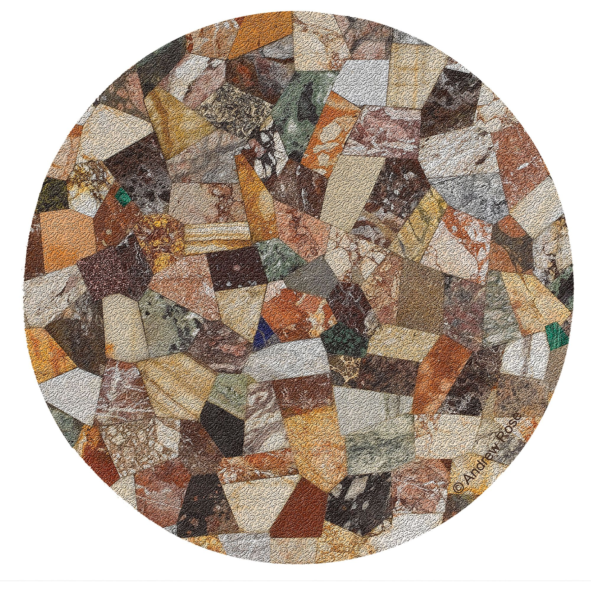 Thirstystone Cork Drink Coasters Set, Tabletop IV