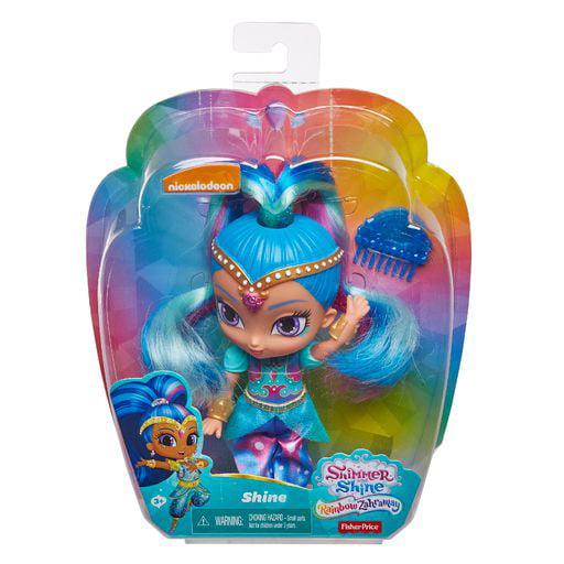 Fisher Price Nickelodeon Shimmer & Shine, Rainbow Doll Shine by
