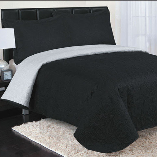 Luxury Home Paisley 3 Piece Comforter Set