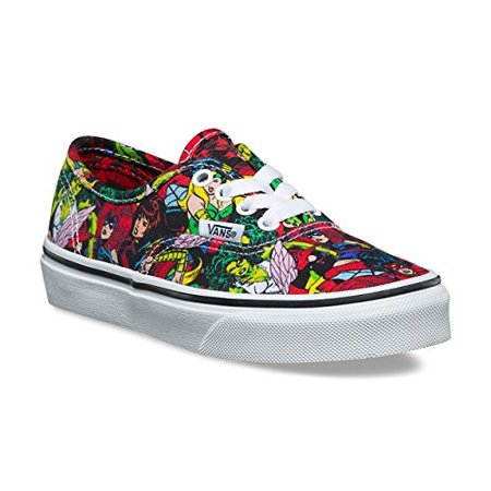 Vans - vans authentic (marvel) multi true white vn0a38h3u41 kid s size 2 -  Walmart.com 82bf832cceb1