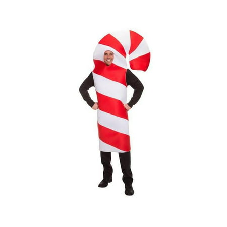 Adult Candy Cane Costume - Adult Candy Costume