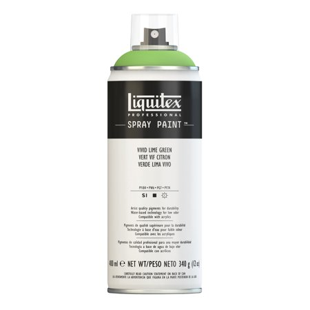 Liquitex Professional Spray Paint, 400ml Spray Can, Vivid Lime Green