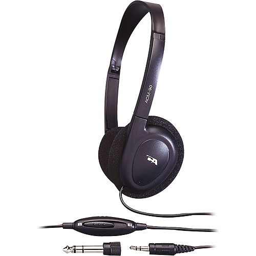 Cyber Acoustics Lightweight PC Audio Stereo Headphones