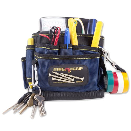 MagnoGrip 9-Pocket Magnetic Pouch, Blue