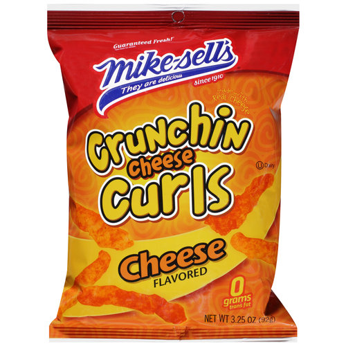 Mike Sells Crunchy Cheese Curls 3.25oz