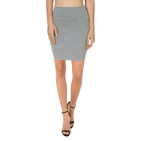 bb94df3cbd Simlu - Bodycon Above Knee Mini Pencil Skirt for Women Short Cotton  Stretchy Mini Skirt - Walmart.com