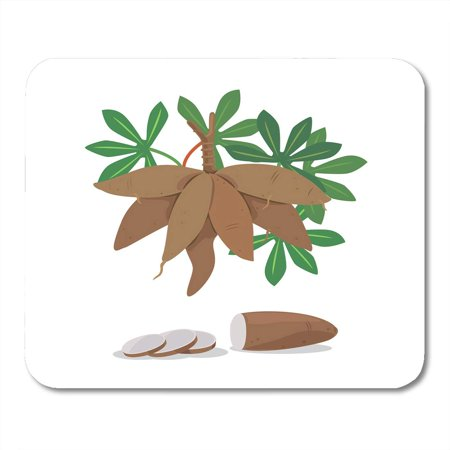 SIDONKU Feed Agricultural of Cassava Root and Pieces Energy Food Mousepad Mouse Pad Mouse Mat 9x10 inch