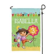 Personalized Dora The Explorer Birthday Flag