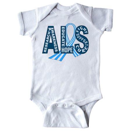 ALS Awareness ribbon Infant Creeper