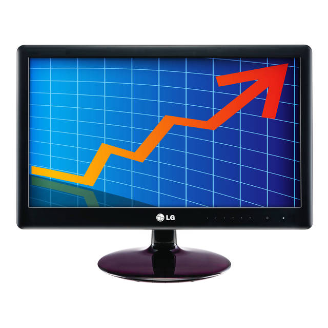 LG Electronics N225WU-BN 22 inch Widescreen 5,000,000:1 5ms VGA/USB LED LCD Monitor, w/ Speakers (Bl